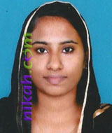 Never Married Malayalam Muslim Brides in Alleppey, Kerala, India